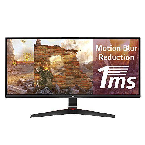 LG 29UM69G-B - Monitor gaming WFHD de 72 cm (IPS, 2560 x 1080 pixeles, 29 pulgadas, UltraWide 21:9, 5ms/1ms con Motion Blur Reduction, AMD FreeSync), color negro