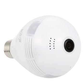 Bombilla-cámara de vigilancia con WiFi