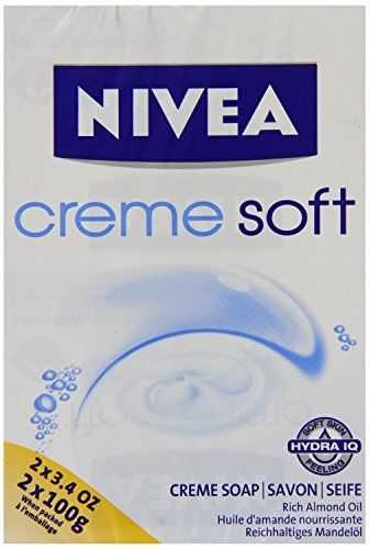 Nivea Creme soft - Jabón - 6 packs de 2 (2x6 unidades)