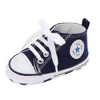 Zapatillas estilo Converse para bebés por 1,99€ en Amazon