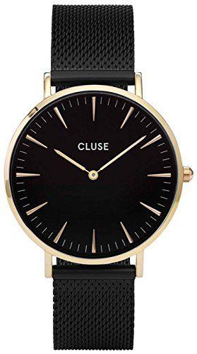 Cluse Reloj Analógico de Cuarzo para Mujer con Correa de Acero Inoxidable – CL18117