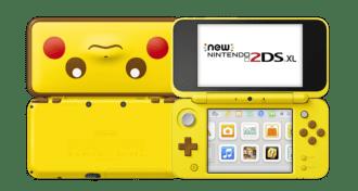 Consola - new nintendo 2ds xl edición pikachu