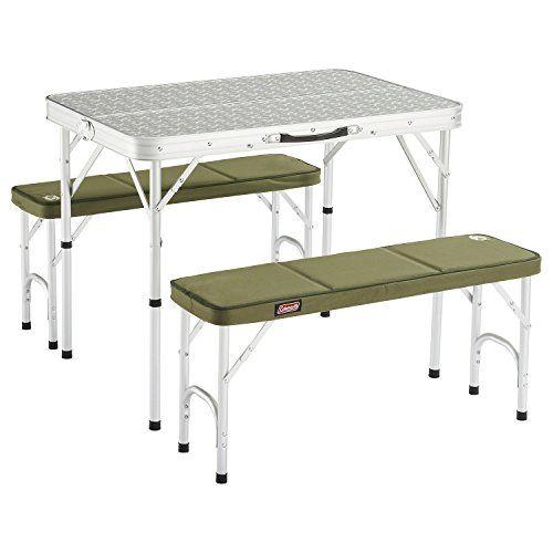 Coleman 205584 - Mesa de camping, color blanco