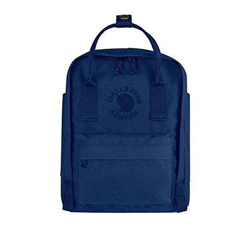 Fjällräven Re-Kånken Mini, Mochila Unisex Adulto, Azul (Midnight Blue), 24x36x45 cm