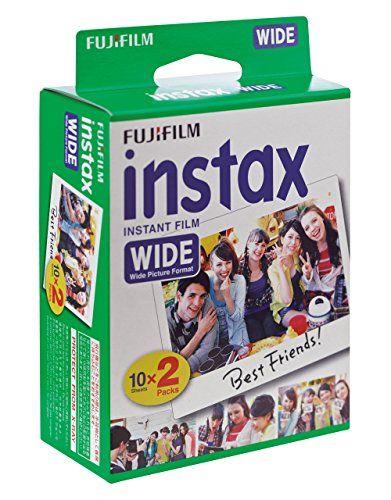 Fujifilm Instax Wide 10X2 - Película Fotográfica, color blanco