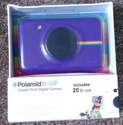 Polaroid Snap Instant Print Digital Camera -Purple