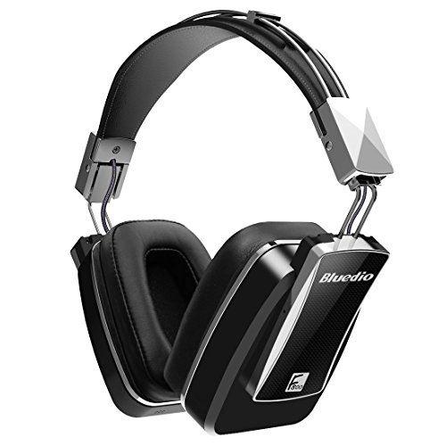 Bluedio F800 Auriculares Inalámbricos Bluetooth Over-ear cancelación activa de ruido ANC con micrófono incorporado ( Negro )