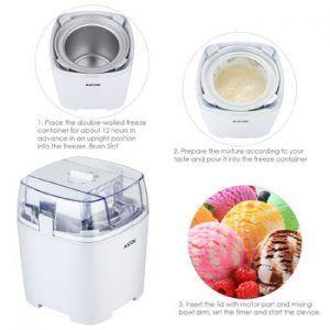 hacer helados con heladera