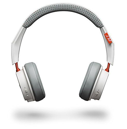 Plantronics BackBeat Fit 500 - Auriculares Deportivos inalámbricos con Bluetooth, Color Blanco