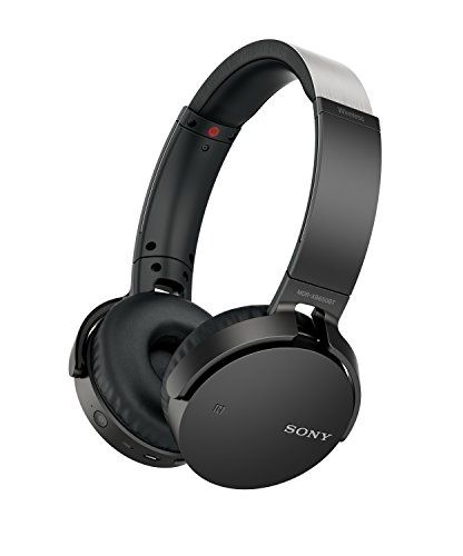 Sony MDR-XB650BT - Auriculares inalámbricos (Extra Bass, Bluetooth, NFC, Diseño Plegable, hasta 30 Horas de Autonomía), Color Negro