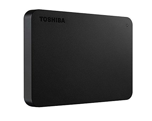Disco Duro Externo Toshiba Canvio Basics USB 3.0 2.5 Pulgadas (2 TB) negro