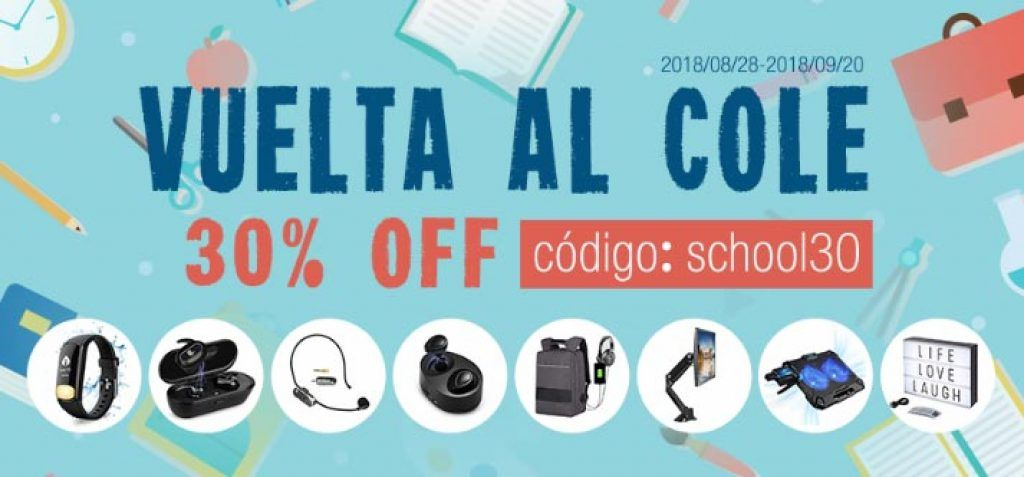 ofertas amazon vuelta al cole