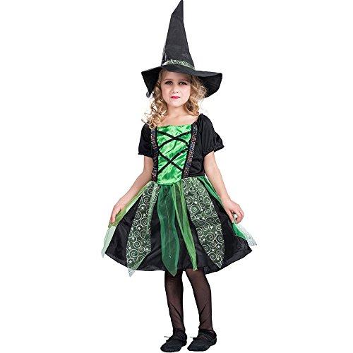 decdeal disfraz de bruja de halloween para nia groovykit de vestido y sombrero