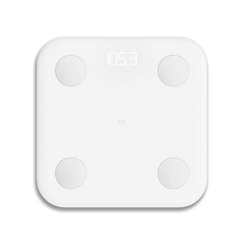 Xiaomi Mi LPN4013GL - Bascula de baño, electrodos de acero inoxidable