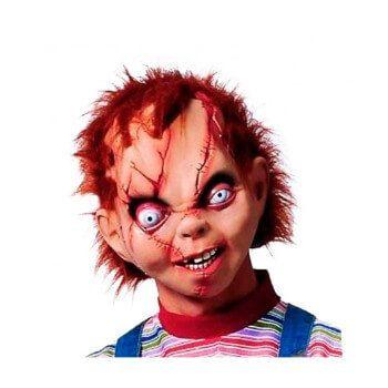 Máscara de látex muñeco asesino