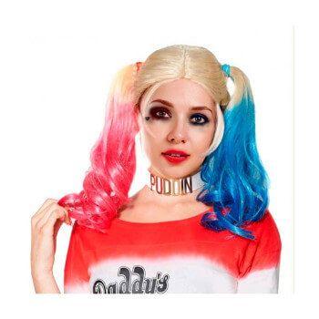 Peluca de Harley Quinn