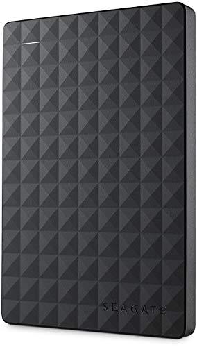 Seagate STEA1000400 - Disco duro externo portátil de 1 TB para PC con USB 3.0, negro