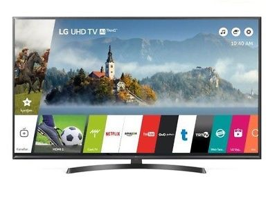 "TV 50"" LG 50UK6470 LED 4K Ultra HD UHD HDR10 Smart TV Bluetooth DTS Web OS"