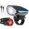 Luz para bicicleta LED Tomshine con descuento