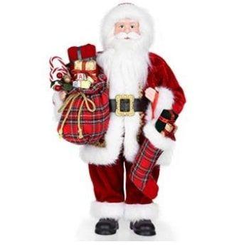 Muñeco de Papá Noel de pie Uten con cupón DESCUENTO del 35%