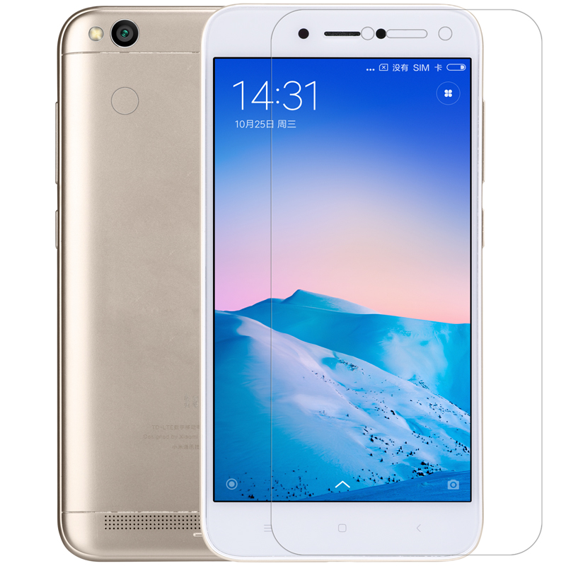 NILLKIN Matte Screen Protector Film+Lens Protector For Xiaomi Redmi 5A / Redmi 5A Global Edition