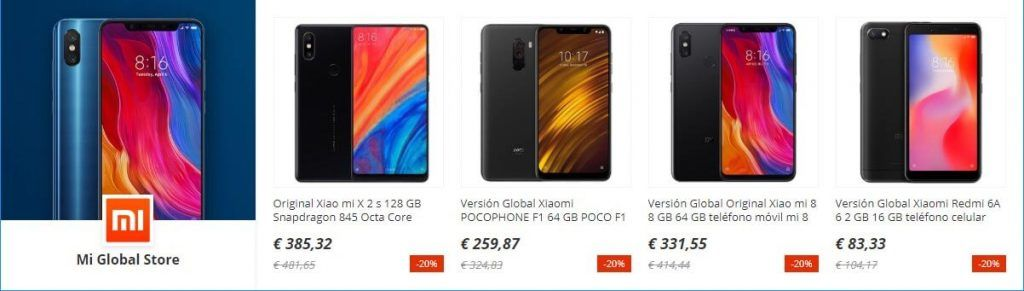 ofertas moviles aliexpress
