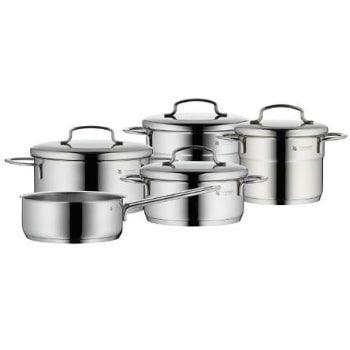 Batería de cocina WMF de 5 piezas. ¡El precio más BARATO de su historia!