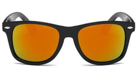 Gafas de sol Rayban naranja chollo oferta baratas aliexpress