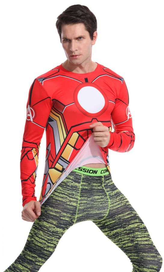 Camiseta Iron Man barata aliexpress