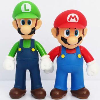 Figuras Mario Luigi Aliexpress chollo oferta precio