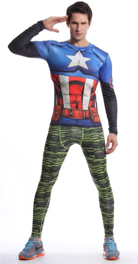 capitan america camiseta barata aliexpress chollo