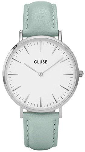 Cluse Reloj Analógico para Unisex de Automático con Correa en Cuero CL18225