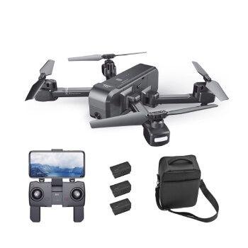 Dron profesional SJ R/C Z5 con baterías y fundas