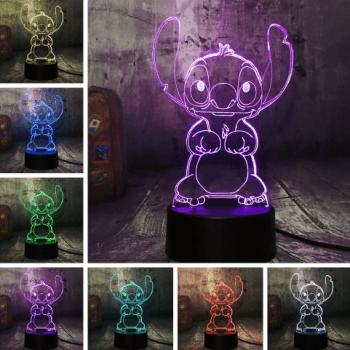 Lámpara decorativa de Lilo y Stitch al mejor precio en AliExpress