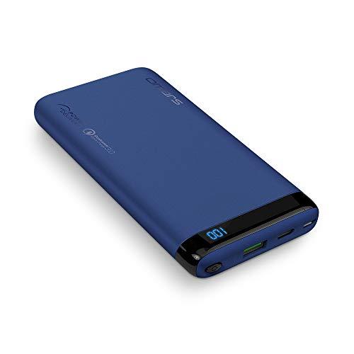 Omars 10000 mAh Batería Externa Banco de Energía con 18W USB C Carga de Energía PD, USB 3.0 QC Carga Rápida para iPhone X/8/8 Plus, Sumsung Galaxy S8/S7, Nintendo Switch y Más
