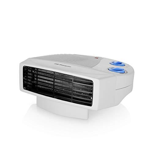 Orbegozo FH 5008 Calefactor eléctrico con Dos Niveles de Calor y Modo Ventilador de Aire frío, 2000 W, Color Blanco