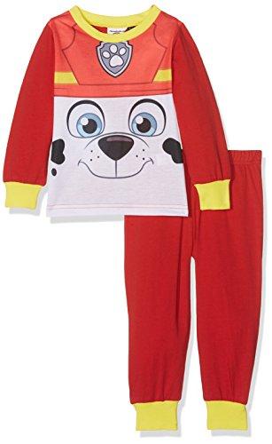 Paw Patrol Boys Chase Pj, Conjuntos de Pijama para Niños, Multicoloured (Red/Yellow), 18-24 Meses 1 unidad