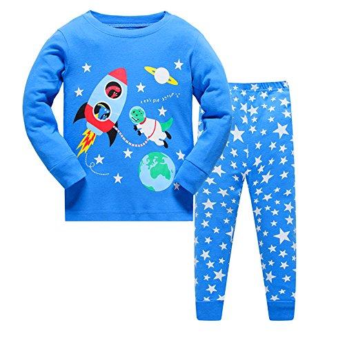 Qtake Fashion - Pijama Dos Piezas - para niño Pajamas1 2-3 Años