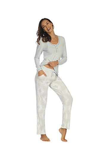 SCM - Pijama - para Mujer Azul XL