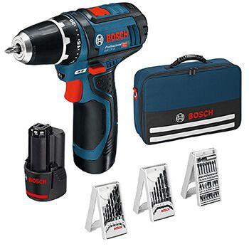 Atornillador Bosch Professional + 39 accesorios por 89€ y envío gratis en Amazon