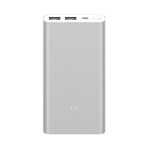 Xiaomi Mi Power Bank 2S, Batería Portátil 10000Mah, Aleación De Aluminio, Micro Usb, Usbx2 Color Plata