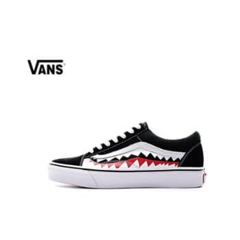 Vans X Bape Sharktooth