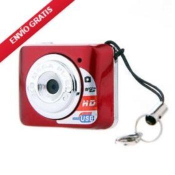 ¡Mini cámara digital X3 HD DV con micrófono a precio MÍNIMO!