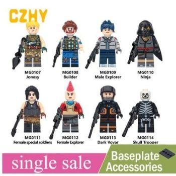 Muñecos Fortnite tipo Lego. ¡Múltiples modelos donde elegir por solo 1,46€!