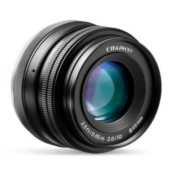 ¡Objetivo 50mm para Sony Craphy por 25€ menos con este CUPÓN!
