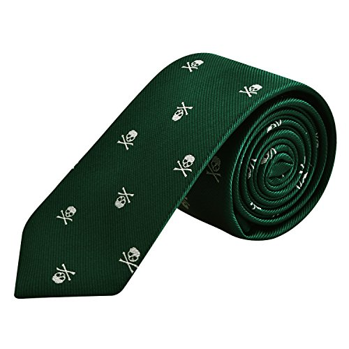 Corbata de calaveras