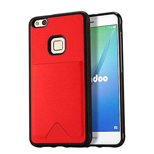 Carcasa Huawei P10 Lite roja
