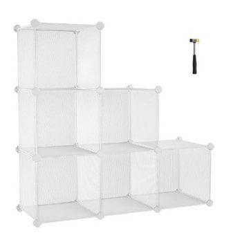 Mueble modular Songmics. ¡El más funcional por un 25% MENOS!