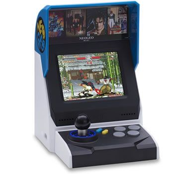 Consola Neo Geo Mini en Amazon