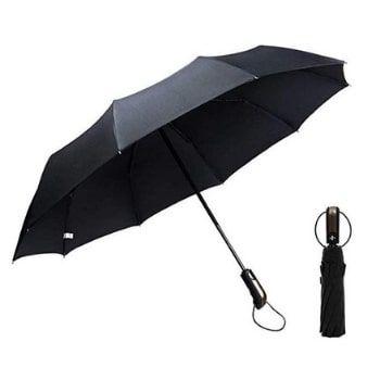 Paraguas automático plegable Massway. ¡Súper resistente y con cupón!
